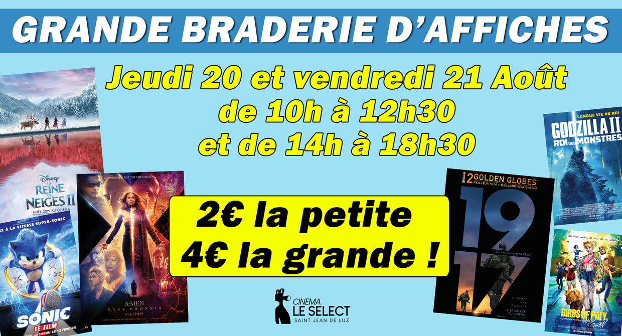 Braderie d'affiches