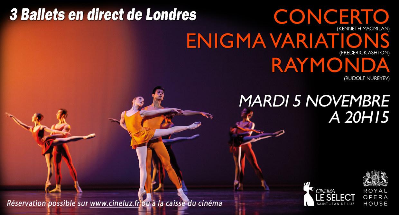 Photo du film Concerto / Variations Enigma / Raymonda Acte III (Royal Opera House)